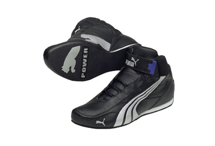 KART CAT MID II Shoe Black/Silver