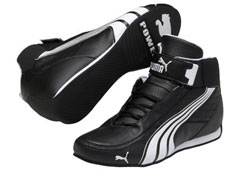 KART CAT MID II Shoe Black/White