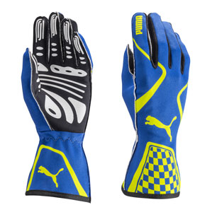 PUMA KART CAT II Glove Blue,White