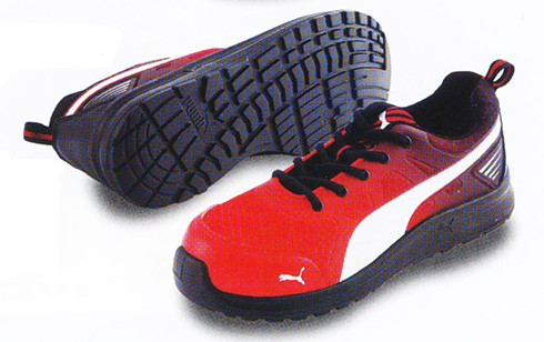 PUMA SAFETY Marathon Red Low
